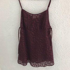 Leopard lingerie Top or dress